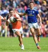 9 June 2019; Stefan Campbell of Armagh during the Ulster GAA Football Senior Championship Semi-Final Replay match between Cavan and Armagh at St Tiarnach's Park in Clones, Monaghan. Photo by Oliver McVeigh/Sportsfile