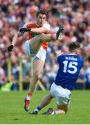 9 June 2019; Charlie Vernon of Armagh during the Ulster GAA Football Senior Championship Semi-Final Replay match between Cavan and Armagh at St Tiarnach's Park in Clones, Monaghan. Photo by Oliver McVeigh/Sportsfile