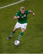 10 June 2019; James McClean of Republic of Ireland during the UEFA EURO2020 Qualifier Group D match between Republic of Ireland and Gibraltar at the Aviva Stadium, Lansdowne Road in Dublin. Photo by Eóin Noonan/Sportsfile
