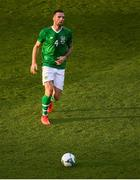 10 June 2019; Shane Duffy of Republic of Ireland during the UEFA EURO2020 Qualifier Group D match between Republic of Ireland and Gibraltar at the Aviva Stadium, Lansdowne Road in Dublin. Photo by Eóin Noonan/Sportsfile