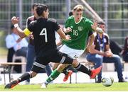15 June 2019; Jack Taylor of Republic of Ireland in action against Jesus Alberto Angulo of Mexico during the 2019 Maurice Revello Toulon Tournament Third Place Play-off between Mexico and Republic of Ireland at the Stade d'Honneur Marcel Roustan in Salon-de-Provence, France. Photo by Alexandre Dimou/Sportsfile