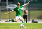 15 June 2019; Connor Ronan of Republic of Ireland takes a penalty kick which misses during the 2019 Maurice Revello Toulon Tournament third place play-off match between Mexico and Republic of Ireland at Stade d'Honneur Marcel Roustan in Salon-de-Provence, France. Photo by Alexandre Dimou/Sportsfile