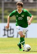 15 June 2019; Tyreke Wilson of Republic of Ireland during the 2019 Maurice Revello Toulon Tournament Third Place Play-off match between Mexico and Republic of Ireland at Stade d'Honneur Marcel Roustan in Salon-de-Provence, France. Photo by Alexandre Dimou/Sportsfile