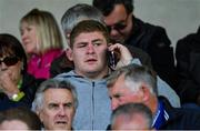 15 June 2019; Leinster and Ireland rugby player Tadhg Furlong in attendance at the Leinster GAA Hurling Senior Championship Round 5 match between Wexford and Kilkenny at Innovate Wexford Park in Wexford. Photo by Piaras Ó Mídheach/Sportsfile