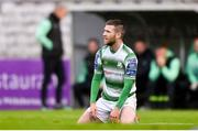 14 June 2019; Jack Byrne of Shamrock Rovers reacts during the SSE Airtricity League Premier Division match between Bohemians and Shamrock Rovers at Dalymount Park in Dublin. Photo by Ben McShane/Sportsfile
