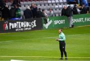 14 June 2019; Shamrock Rovers goalkeeping coach Jose Ferrer prior to the SSE Airtricity League Premier Division match between Bohemians and Shamrock Rovers at Dalymount Park in Dublin. Photo by Ben McShane/Sportsfile