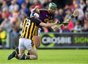 15 June 2019; Conor McDonald of Wexford gets past Huw Lawlor of Kilkenny during the Leinster GAA Hurling Senior Championship Round 5 match between Wexford and Kilkenny at Innovate Wexford Park in Wexford. Photo by Piaras Ó Mídheach/Sportsfile