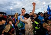 15 June 2019; Chris Crummey of Dublin celebrates with his Mother following the Leinster GAA Hurling Senior Championship Round 5 match between Dublin and Galway at Parnell Park in Dublin. Photo by Ramsey Cardy/Sportsfile