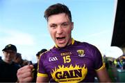 15 June 2019; Conor McDonald of Wexford celebrates after the Leinster GAA Hurling Senior Championship Round 5 match between Wexford and Kilkenny at Innovate Wexford Park in Wexford. Photo by Piaras Ó Mídheach/Sportsfile