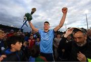15 June 2019; Chris Crummey of Dublin celebrates following the Leinster GAA Hurling Senior Championship Round 5 match between Dublin and Galway at Parnell Park in Dublin. Photo by Ramsey Cardy/Sportsfile