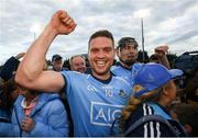 15 June 2019; Conal Keaney of Dublin celebrates following the Leinster GAA Hurling Senior Championship Round 5 match between Dublin and Galway at Parnell Park in Dublin. Photo by Ramsey Cardy/Sportsfile
