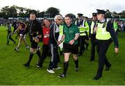 15 June 2019; Referee Fergal Horgan leaves the field after the Leinster GAA Hurling Senior Championship Round 5 match between Wexford and Kilkenny at Innovate Wexford Park in Wexford. Photo by Piaras Ó Mídheach/Sportsfile