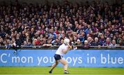 15 June 2019; Supporters watch on as Alan Nolan of Dublin scores a point during the Leinster GAA Hurling Senior Championship Round 5 match between Dublin and Galway at Parnell Park in Dublin. Photo by Ramsey Cardy/Sportsfile