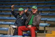 16 June 2019; Limerick supporters Michael Ryan and Patrick Ryan from Old Christians GAA club prior to the Munster GAA Hurling Senior Championship Round 5 match between Tipperary and Limerick in Semple Stadium in Thurles, Co. Tipperary. Photo by Diarmuid Greene/Sportsfile