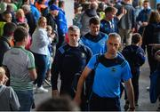 16 June 2019; Tipperary manager Liam Sheedy and coach Tommy Dunne arrive prior to the Munster GAA Hurling Senior Championship Round 5 match between Tipperary and Limerick in Semple Stadium in Thurles, Co. Tipperary. Photo by Diarmuid Greene/Sportsfile