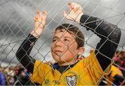16 June 2019; Clare Supporter Jack Ryan, age 8, ahead of the Munster GAA Hurling Senior Championship Round 5 match between Clare and Cork at Cusack Park in Ennis, Clare. Photo by Eóin Noonan/Sportsfile