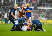 16 June 2019; Tippery medical staff rush to attend to Patrick Maher of Tipperary during the Munster GAA Hurling Senior Championship Round 5 match between Tipperary and Limerick in Semple Stadium in Thurles, Tipperary. Photo by Ray McManus/Sportsfile