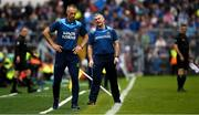 16 June 2019; Tipperary manager Liam Sheedy, right, and selector Tommy Dunne react during the Munster GAA Hurling Senior Championship Round 5 between Tipperary and Limerick in Semple Stadium in Thurles, Tipperary. Photo by Ray McManus/Sportsfile