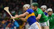 16 June 2019; Padraic Maher of Tipperary in action against William O'Donoghue of Limerick during the Munster GAA Hurling Senior Championship Round 5 between Tipperary and Limerick in Semple Stadium in Thurles, Tipperary. Photo by Ray McManus/Sportsfile