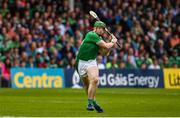 16 June 2019; Shane Dowling of Limerick scores the first point of the game during the Munster GAA Hurling Senior Championship Round 5 match between Tipperary and Limerick in Semple Stadium in Thurles, Co. Tipperary. Photo by Diarmuid Greene/Sportsfile
