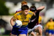 16 June 2019; Niall Daly of Roscommon in action against John Daly of Galway during the Connacht GAA Football Senior Championship Final match between Galway and Roscommon at Pearse Stadium in Galway. Photo by Ramsey Cardy/Sportsfile