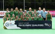 16 June 2019; The Ireland squad after the FIH World Hockey Series Final match between Ireland and Korea at Banbridge Hockey Club in Banbridge, Down.  Photo by Oliver McVeigh/Sportsfile