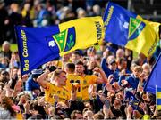 16 June 2019; Enda Smith of Roscommon celebrates with supporters following his side's victory during the Connacht GAA Football Senior Championship Final match between Galway and Roscommon at Pearse Stadium in Galway. Photo by Seb Daly/Sportsfile