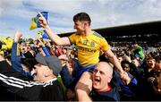 16 June 2019; Diarmuid Murtagh of Roscommon celebrates following the Connacht GAA Football Senior Championship Final match between Galway and Roscommon at Pearse Stadium in Galway. Photo by Ramsey Cardy/Sportsfile