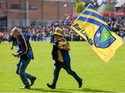 16 June 2019; Roscommon supporters on the pitch during the Connacht GAA Football Senior Championship Final match between Galway and Roscommon at Pearse Stadium in Galway. Photo by Ramsey Cardy/Sportsfile