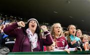 16 June 2019; Galway supporters during the Connacht GAA Football Senior Championship Final match between Galway and Roscommon at Pearse Stadium in Galway. Photo by Ramsey Cardy/Sportsfile