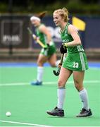 16 June 2019; Hannah Matthews of Ireland during the FIH World Hockey Series Final match between Ireland and Korea at Banbridge Hockey Club in Banbridge, Down.  Photo by Oliver McVeigh/Sportsfile