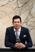 17 June 2019; Former GAA star Sean Cavanagh of Tyrone was in Dublin today for the reveal and official launch of the Benetti Menswear GAA Ambassador campaign for 2019. Benetti are an Irish designed menswear clothing brand who supply a fully comprehensive collection in tailoring, casual menswear, footwear and accessories. For further information about Benetti, log on to www.benetti.ie Photo by Ramsey Cardy/Sportsfile