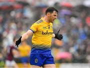 16 June 2019; Diarmuid Murtagh of Roscommon during the Connacht GAA Football Senior Championship Final match between Galway and Roscommon at Pearse Stadium in Galway. Photo by Seb Daly/Sportsfile