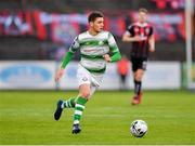 14 June 2019; Dylan Watts of Shamrock Rovers during the SSE Airtricity League Premier Division match between Bohemians and Shamrock Rovers at Dalymount Park in Dublin. Photo by Seb Daly/Sportsfile