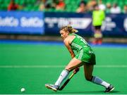 9 June 2019; Gillian Pinder of Ireland during the FIH World Hockey Series Group A match between Ireland and Czech Republic at Banbridge Hockey Club in Banbridge, Down. Photo by Eóin Noonan/Sportsfile