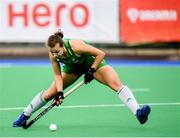 9 June 2019; Megan Frazer of Ireland during the FIH World Hockey Series Group A match between Ireland and Czech Republic at Banbridge Hockey Club in Banbridge, Down. Photo by Eóin Noonan/Sportsfile