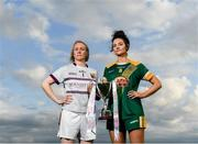 17 June 2019; Mary-Rose Kelly of Wexford and Máire O'Shaughnessy of Meath pictured at the Leinster LGFA Captain and Managers night ahead of the 2019 Leinster Ladies Senior, Intermediate and Junior Championship Finals, which will be played at Netwatch Cullen Park, Carlow, on June 30. Leinster LGFA will stream the Junior and Intermediate Finals, while the LGFA will stream the Senior Final. Managers and players from the participating counties were in attendance at Castleknock Golf Club in Castleknock, Co. Dublin. Photo by Harry Murphy/Sportsfile
