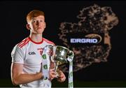 18 June 2019; In attendance at the launch of the EirGrid GAA Football U20 All-Ireland Championship is Ruairi Gormley of Tyrone. EirGrid, the state-owned company that manages and develops Ireland's electricity grid, have partnered with the GAA since 2015 as sponsors of the U20 GAA Football All-Ireland Championship. Photo by Eóin Noonan/Sportsfile