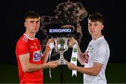 18 June 2019; In attendance at the launch of the EirGrid GAA Football U20 All-Ireland Championship is Peter O'Driscoll of Cork and Darragh Ryan of Kildare. EirGrid, the state-owned company that manages and develops Ireland's electricity grid, have partnered with the GAA since 2015 as sponsors of the U20 GAA Football All-Ireland Championship. Photo by Eóin Noonan/Sportsfile