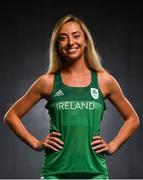 7 June 2019; Team Ireland athlete Amy O'Donoghue prepares for competition at the European Games in Minsk, at Sport Ireland Institute in Abbotstown, Dublin. Photo by David Fitzgerald/Sportsfile