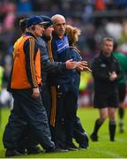 16 June 2019; Roscommon manager Anthony Cunningham and his backroom team during the Connacht GAA Football Senior Championship Final match between Galway and Roscommon at Pearse Stadium in Galway. Photo by Ramsey Cardy/Sportsfile