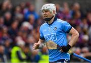 15 June 2019; Liam Rushe of Dublin ahead of the Leinster GAA Hurling Senior Championship Round 5 match between Dublin and Galway at Parnell Park in Dublin. Photo by Ramsey Cardy/Sportsfile