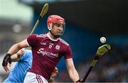 15 June 2019; Jonathan Glynn of Galway during the Leinster GAA Hurling Senior Championship Round 5 match between Dublin and Galway at Parnell Park in Dublin. Photo by Ramsey Cardy/Sportsfile