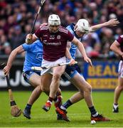 15 June 2019; Joe Canning of Galway during the Leinster GAA Hurling Senior Championship Round 5 match between Dublin and Galway at Parnell Park in Dublin. Photo by Ramsey Cardy/Sportsfile