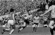 12 June 1983; Anton O'Toole of Dublin, with Brian Mullins in support, in action against Padraig Lyons of Meath. Leinster Senior Football Championship quarter-final, Dublin v Meath in Croke Park in Dublin. Photo by Ray McManus/Sportsfile.
