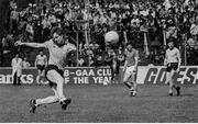 12 June 1983; Barney Rock takes a free kick. Leinster Senior Football Championship quarter-finall, Dublin v Meath in Croke Park in Dublin. Photo by Ray McManus/Sportsfile.