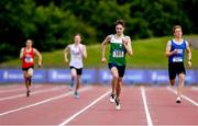 22 June 2019; Jed Walsh of Rathoath CC, Co. Meath, centre right, on his way to winning the Boys 400m event during the Irish Life Health Tailteann Inter-provincial Games at Santry in Dublin. Photo by Sam Barnes/Sportsfile
