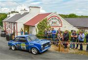 22 June 2019; Wesley Patterson and Johnny Baird in their Ford Escort Mk2 on SS 8 Glen during Day 2 of the 2019 Joule Donegal International Rally in Letterkenny, Donegal. Photo by Philip Fitzpatrick/Sportsfile