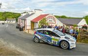 22 June 2019; Callum Devine and Brian Hoy in their Ford Fiesta R5 on SS 8 Glen during Day 2 of the 2019 Joule Donegal International Rally in Letterkenny, Donegal. Photo by Philip Fitzpatrick/Sportsfile