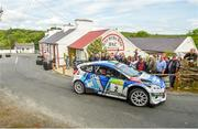 22 June 2019; Craig Breen and Paul Nagle in their Ford Fiesta WRC  on SS 8 Glen during Day 2 of the 2019 Joule Donegal International Rally in Letterkenny, Donegal. Photo by Philip Fitzpatrick/Sportsfile